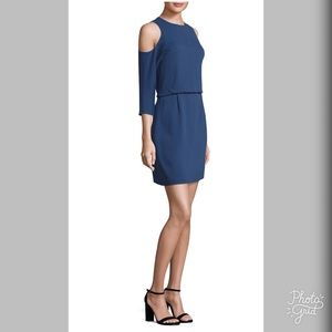 TiVo Savana Crepe Cold Shoulder Dress- ChicEwe